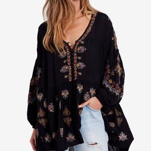 [NWT] FREE PEOPLE Arianna Embroidered Tunic